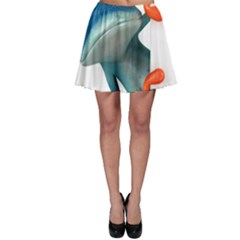 Tree Frog Illustration Skater Skirt