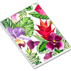 Vector Pattern Tropical Large Memo Pads