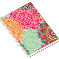 Art Abstract Pattern Large Memo Pads