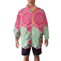 Art Abstract Pattern Wind Breaker (kids)
