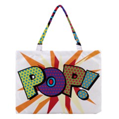 Comic Book Pop!  Medium Tote Bag