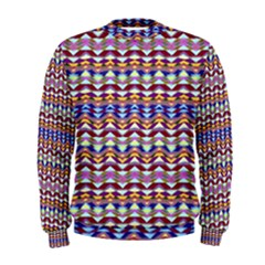 Ethnic Colorful Pattern Men s Sweatshirt