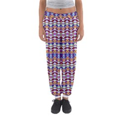 Ethnic Colorful Pattern Women s Jogger Sweatpants