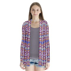Ethnic Colorful Pattern Cardigans