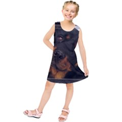 Rottweiler Framed Kids  Tunic Dress