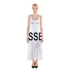 I Love My Sussex Spaniel Sleeveless Maxi Dress