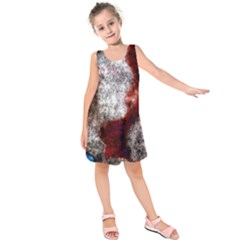 Background For Scrapbooking Or Other Kids  Sleeveless Dress