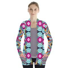 Targets Pattern                             Women s Open Front Pockets Cardigan
