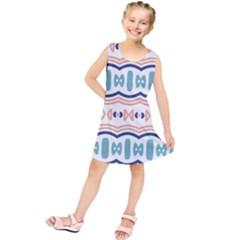 Shapes And Waves                     Kid s Tunic Dress