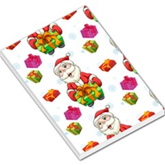 Xmas Patterns  Large Memo Pads
