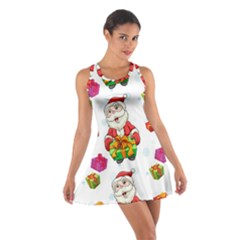 Xmas Patterns  Cotton Racerback Dress