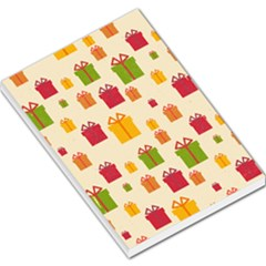 Christmas Gift Box Vector Seamless Pattern Vector Large Memo Pads