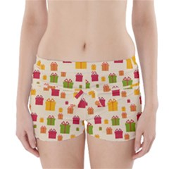 Christmas Gift Box Vector Seamless Pattern Vector Boyleg Bikini Wrap Bottoms
