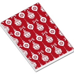 Abstract Christmas Seamless Background Vector Graphic Large Memo Pads