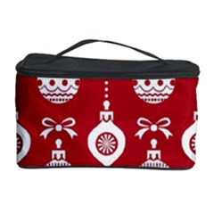 Abstract Christmas Seamless Background Vector Graphic Cosmetic Storage Case