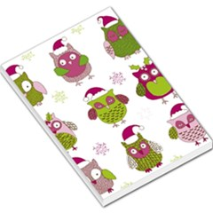 Cartoon Christmas Owl Cute Vector Large Memo Pads