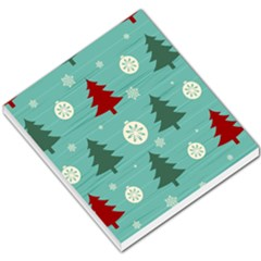 Christmas Tree With Snow Seamless Pattern Vector Small Memo Pads