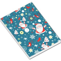 Christmas Stockings Vector Pattern Large Memo Pads