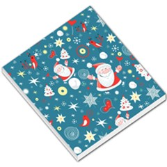 Christmas Stockings Vector Pattern Small Memo Pads
