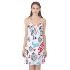 Christmas Doodle Pattern Camis Nightgown
