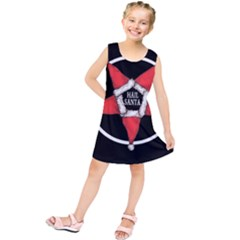 Hail Santa Kids  Tunic Dress