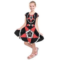 Hail Santa Kids  Short Sleeve Dress