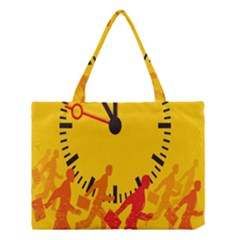 Work Run Medium Tote Bag