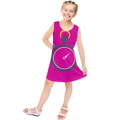 Alarm Clock Houre Kids  Tunic Dress