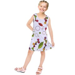 Adorable Floral Design Kids  Tunic Dress