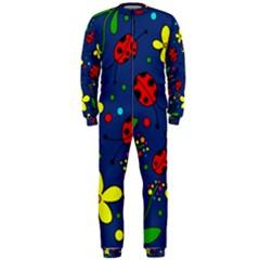 Ladybugs   Blue Onepiece Jumpsuit (men)