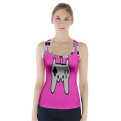 Game Pink Racer Back Sports Top