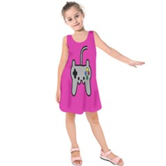Game Pink Kids  Sleeveless Dress