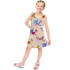 Chicken Kids  Tunic Dress