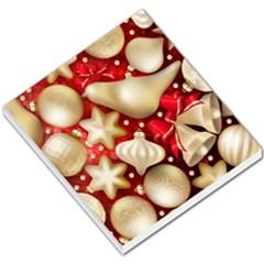 Christmas Baubles Seamless Pattern Vector Material Small Memo Pads