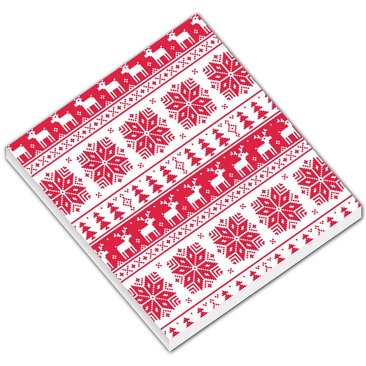 Christmas Patterns Small Memo Pads