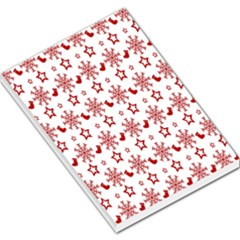 Christmas Pattern  Large Memo Pads