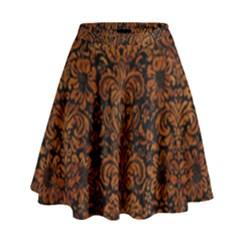 Dms2 Bk Br Marble High Waist Skirt