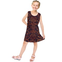 Dms2 Bk Br Marble Kids  Tunic Dress