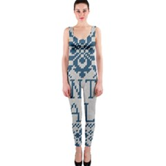 Christmas Elements With Knitted Pattern Vector   Onepiece Catsuit