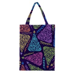 Christmas Patterns Classic Tote Bag