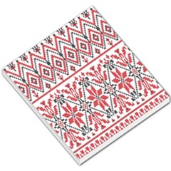 Consecutive Knitting Patterns Vector Background Small Memo Pads