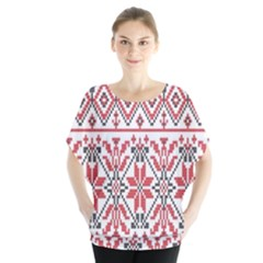 Consecutive Knitting Patterns Vector Background Blouse