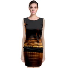 Houses Of Parliament Classic Sleeveless Midi Dress
