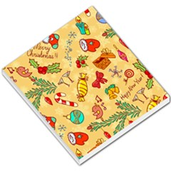 Cute Christmas Seamless Pattern Vector Small Memo Pads