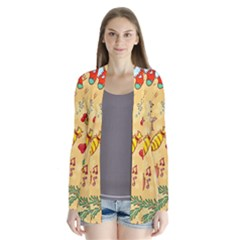 Cute Christmas Seamless Pattern Vector Cardigans