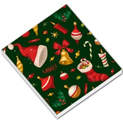 Cute Christmas Seamless Pattern Small Memo Pads