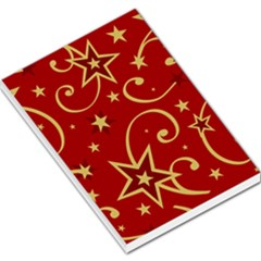 Elements Of Christmas Decorative Pattern Vector Large Memo Pads