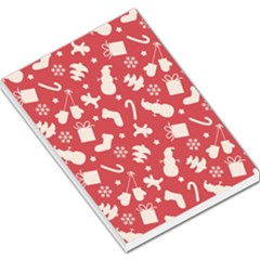 Pattern Christmas Elements Seamless Vector Large Memo Pads