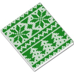 Knitted Fabric Christmas Pattern Vector Small Memo Pads