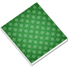 Snowflake Vector Pattern Small Memo Pads